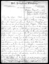 alexander graham bell essay about this collection alexander graham bell family papers at the library of congress digital collections library