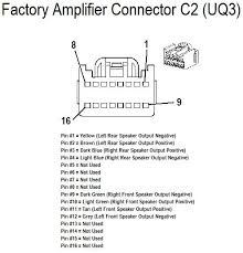 chevrolet car radio stereo audio wiring diagram autoradio chevrolet 2008 hhr amplifer connector c1 wiring