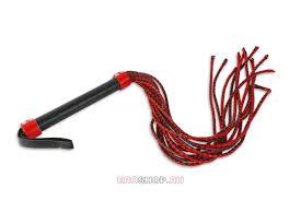 <b>Плеть</b>-многохвостка, красная с <b>черным</b> DP510. Цена 2495р ...