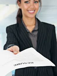 Resumes and Cover Letters   Career Center   Truckee Meadows     Girl Submitting Resume