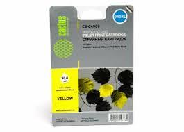 <b>Картридж</b> струйный <b>Cactus CS</b>-<b>C4909</b> №940 желтый (30мл) для ...