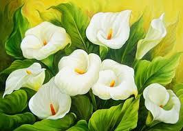 5D DIY <b>Diamond</b> Painting Callas Cross Stitch Full <b>Diamond flowers</b> ...