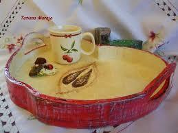 niches latini bathroom ajpg d a: eu amo artesanato bandeja de papelao em formato de maaa