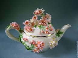 Купить Чайник <b>Сакура</b> - розовый, <b>сакура</b>, весна, <b>цветущая</b> вишня ...