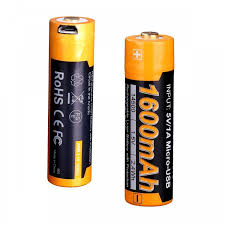 <b>Аккумулятор</b> Fenix <b>14500</b> mAh с разъемом для USB ARB-L14 ...