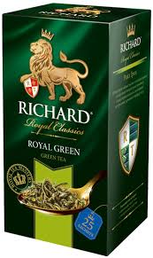 <b>Richard Royal Green зеленый чай</b> в пакетиках, 25 шт — купить в ...