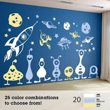 <b>30Pcs</b> ALIEN <b>SPACE</b> Monsters Rockets Planets by AmericanDecals ...