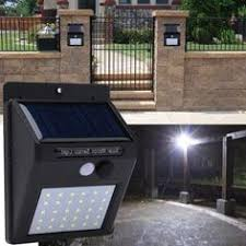 <b>Solar</b> Garten licht Wasserdicht Radar Bewegungssensor <b>Solar LED</b> ...