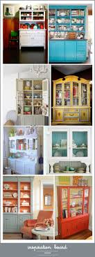 ideas china hutch decor pinterest: nice collection of repainted china cabinets hutchery i like the watery blue and orange one most casadecoratingfor the homehome sweet homehomes sweet