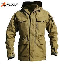<b>M65 US</b> Army <b>Military Tactical</b> Jacket Outdoor Hiking Windbreaker ...