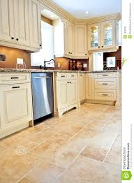 Large Floor Tiles For Kitchen Tile Floor In Modern Kitchen Royalty Free Stock Image Image 7250536