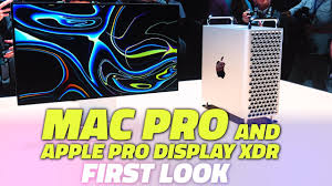 WWDC 2019: First Look at the New Mac Pro and Apple Pro Display ...