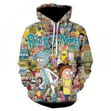 <b>Rick And</b> Morty <b>Hoodie</b> - 3D <b>Printed</b> 2018 <b>Design</b> | <b>Printed</b> ...