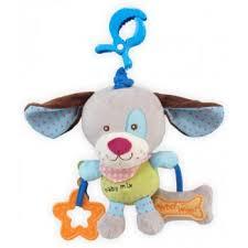 Собачка мягкая <b>игрушка</b> с подвеской <b>Baby Mix</b> арт 1125