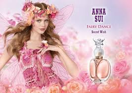 <b>Anna Sui Fairy Dance</b> Secret Wish Perfume Ad | Perfume, Lila ...
