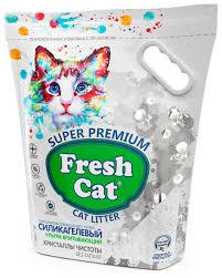 Впитывающий наполнитель <b>Fresh Cat Кристаллы чистоты</b> 5 л ...