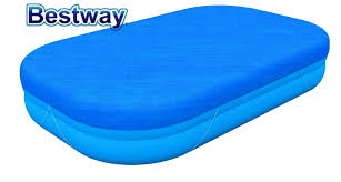 58319 Bestway 262x175x51 см <b>крышка для бассейна</b> с ...