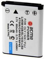 «<b>AcmePower AP Li</b>-<b>42B</b>/Li-40B» — <b>Аккумуляторы</b> и зарядные ...