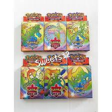 (Ready Stock Malaysia) New Version Pokemon Trading Card (<b>1 set</b> ...