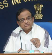 The Union Finance Minister of India Shri P. Chidambaram