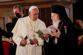Αποτέλεσμα εικόνας για παπας βαρθολομαιος συναντηση μαιο;