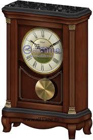 Деревянные <b>настольные</b> часы <b>Vostok</b> VST-T-10358 с маятником ...