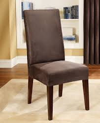 Black Dining Room Chair Covers Dining Chair Slipcovers With Arms A Gallery Dining