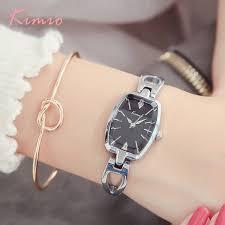 <b>Kimio Brand Women's Bracelet</b> Watches Diamond Stainless Steel ...