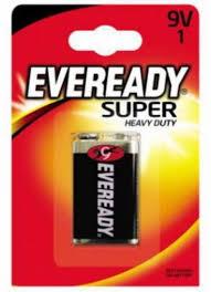 Купить <b>Батарейка</b> 9В Everedy <b>Super</b> Heavy Duty <b>6F22</b> FSB1 (тип ...