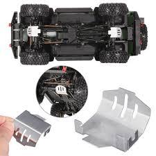 1pc metal chassis <b>protection skid</b> plate armor for <b>1</b>/10 traxxas trx4 ...