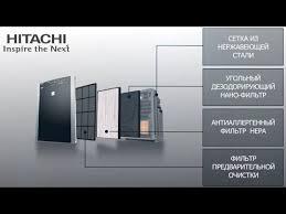 <b>Воздухоочистители HITACHI EP</b> A8000, <b>EP A7000</b>, <b>EP</b> A5000 ...