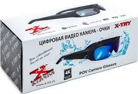 <b>Экшн камера-очки X-TRY</b> XTG373 UHD 4K, 64 GB INDIGO купить ...