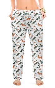 """Женские пижамные штаны """"лесные мотивы"""" #2640080 от ..."""