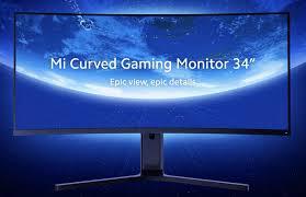 Игровой 144-Гц <b>монитор Xiaomi Mi</b> Curved Gaming Monitor 34 ...