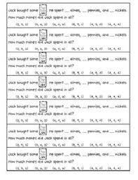 1000+ images about lemonade war on Pinterest | Lemonade, War and ...Here's a set of math journal problems for money. Includes 4 different rebus-style