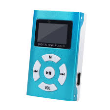 <b>Mini USB</b> MP3 Player LCD Screen SD TF Card Rechargeable <b>Music</b> ...