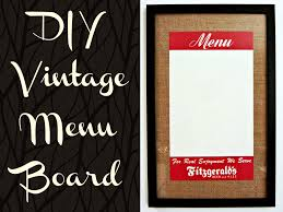 diy vintage menu board this ohio life i have a new diy tutorial for you i had the idea for this project while shopping my mom and grandma on small business saturday the first saturday