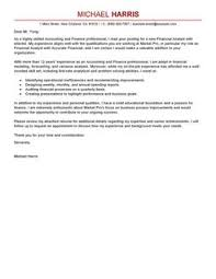best accounting  amp  finance cover letter examples   livecareeraccounting finance cover lettermodern design