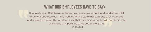 work us coastal beverage co i like working at cbc because the company recognizes hard work and offers a lot of