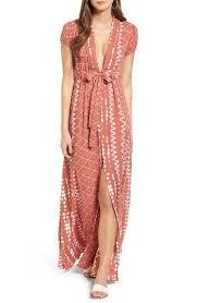 Tularosa Joel <b>Geo Print</b> Maxi Dress (Nordstrom Exclusive   Chic ...