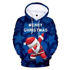 3D Merry Christmas Cool Santa Sweatshirts. (с изображениями ...