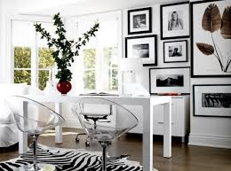 acrylic office chairs. FurnituresHome Office Design With White Desk And Clear Lucite Chairs Also Modern Wall Acrylic D