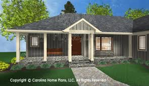 D Images For CHP SG   AA   Small Ranch D House Plan ViewsFRONT RIGHT VIEW SG  D Front Porch View