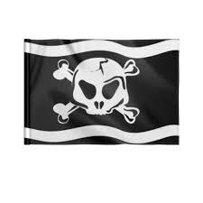 <b>Флаг 22</b>×<b>15 см</b> Пиратский <b>флаг</b> с Веселым Роджером. #3065648 ...