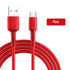 Liquid Silicone 3A Fast Charge Cable Micro USB Type C Cable for ...