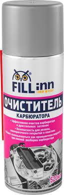 <b>Очиститель FILL</b> INN <b>карбюратора</b> аэрозоль 520 мл FL056 ...