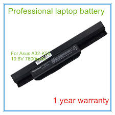 Online Shop <b>7800mah laptop battery A32-K53</b> for A43E A53S K43E ...