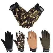 <b>1 Pair Winter</b> Outdoor Thermal Lined Gloves <b>Men</b> Driving Mechanics ...