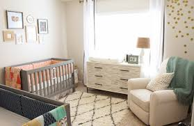 simple gender neutral baby nursery ideas for small spaces baby nursery ideas small