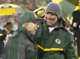 Image result for image+ bart starr and brett favre 2015